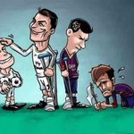 "RT bos ""@berlianober: real madrid ""@Realmadridplace: Cartoon: Cristiano-Bale vs. Messi Neymar [@SocialRMadrid] http://t.co/0TVcQiVmvb"""""""