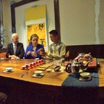 Biden and his granddaughter Finnegan at Beijing tea house, as Amb. Gary Locke looks across table. #BideninAsia http://t.co/wTRAXIB98Z