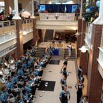 Maine Football Pep rally about to start in Student Union at UMaine-- Ill tell you more live on NEWS CENTER at noon! http://t.co/72ATdf7l6d