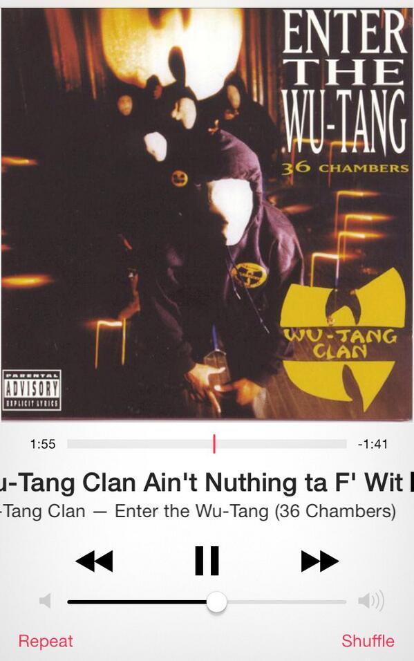 Currently @WuTangClan http://t.co/sAjknJ4Rua