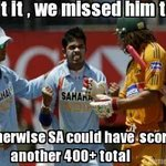 "India have only won 1 Test in SA ever & Sreesanth was MotM in that RT ""@fahim_parekh: Hahahaha....#SAvIND http://t.co/7C2pUsWTYL"""