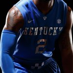 UKs mens and womens teams will wear uniforms with silver chrome lettering on Friday. @KentuckyMBBs look: http://t.co/eYHUXDn8wa