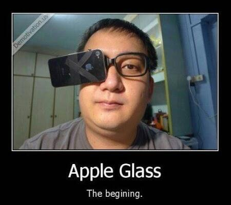 Apple Glass http://t.co/p7Al5cGKZt