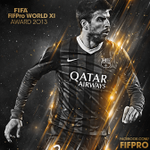 Nominated again for the @FIFAcom @FIFPro WorldXI 2013 short list. Very honored! Thanks to all that voted me. http://t.co/c0PpUfymop