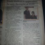 Looks whos in the warrington guardian @Jessicacp94 :-) proud mummy http://t.co/nd1NdjWEFY