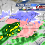 Discussion: Snow/sleet to start around sunrise Sunday, then its all about the ice... http://t.co/krbxFAEGYq http://t.co/RL6IUcKju6