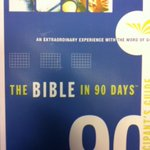 So excited to go through the 90 day Bible challenge with the whole church! @mspringscc #calvarychapel #bible #yyc http://t.co/JNgIIb55Nh