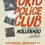 BIG NEWS! @TokyoPoliceClub feat.  @hollerado and @thatstreetnamed will be taking the @MSU_1280 stage on January 11! http://t.co/j9Y2u6C3ay