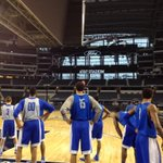 Practice time at @ATTStadium http://t.co/vRqR08bZxC