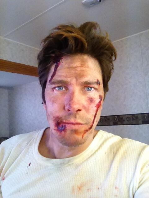 The rodeo's gettin' rough on the set of @KillerWomen. Tune in this season to find out how this happened! http://t.co/OoYu2646sa