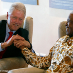 "RT @scullather: ""@billclinton: I will never forget my friend Madiba. http://t.co/PxWen4ATRB"""