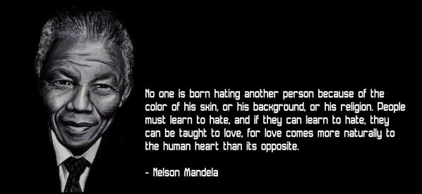 #RIPNelsonMandela say a little prayer for a great man who helped bring great change. http://t.co/mTPGxocJsP