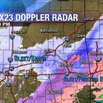 Sleet/Snow moving back into #Tulsa. Light snow this evening before increasing overnight.Ice storm ongoing in SE Okla. http://t.co/KZkk1iLj4o