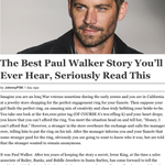 RT @Nvmilit: you gotta respect Paul walker for this. All around class act. #RIPPaulWalker http://t.co/EX8PS4Rsi2