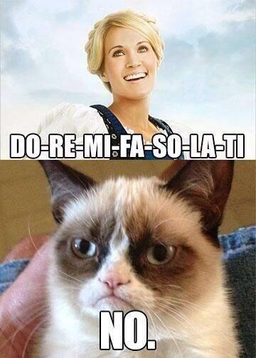 @scrowell: OK I laughed. There is already a @RealGrumpyCat meme for #TheSoundOfMusicLive