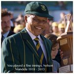 "@cpark49  think they should postpone the series for now ""@OfficialCSA: You played a fine innings. #RIPMadiba http://t.co/wnZvAyYkDQ"""