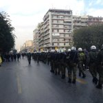 Riot police as far as the eye can see #6dgr #rbnews #antireport #skg http://t.co/zSyEC5rAgj