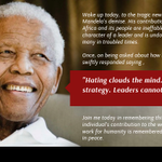 RT @DS_Kulkarni: #RIPNelsonMandela - Great Soul, who lived the words like Dream, Peace and Unity http://t.co/ItfJJjZMO6