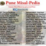 "RT @PuneCityLife: ""Which is the best place to have Misal in #Pune? list of Famous Misal Joints. http://t.co/aZyHHTjcat @nikhilmts @ladanand"