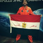 After months of hard work & perseverance Ive earned the privilege 2 represent Egypt in outer space 100km over earth http://t.co/VrBUxcznnP