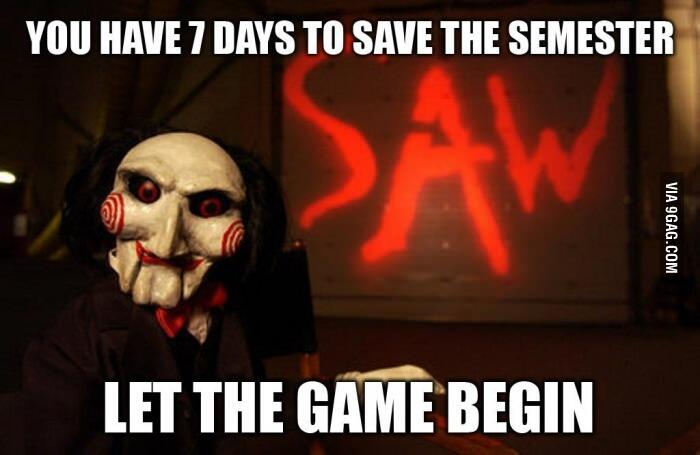 @9GAG: How I feel right now. #saw aku isnin ni je sial