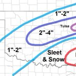 "My updated snow forecast: Im reducing the snow totals for Metro Tulsa to 2""-4"".  Snow ends mid/late morning. #okwx http://t.co/fc5Ml8ux55"