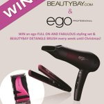 FOLLOW @beautybay @egoprofessional & RT to #WIN a FULL ON AND FABULOUS styling set every week until #XMAS http://t.co/QyXokBDk1j