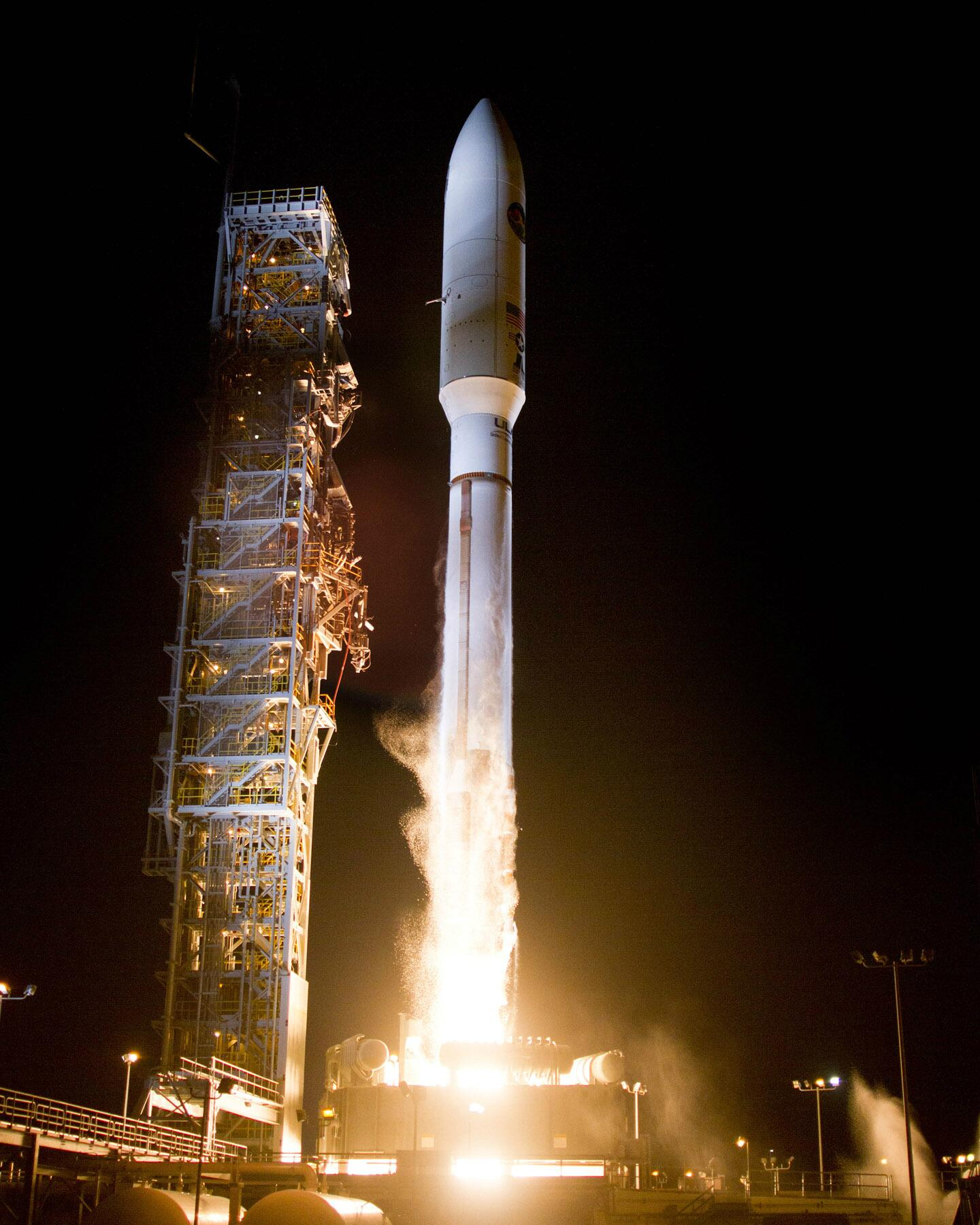 Congrats to @ulalaunch for the 11:14 p.m. PST successful flight of the #AtlasV from VAFB for NRO and our cubesats http://t.co/ZrVWJkUp8p