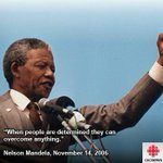 """When people are determined they can overcome anything."" (Johannesburg, South Africa, Nov. 14, 2006) http://t.co/MfZI0MBI4J"