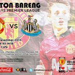 #NonbarUICL #BPL @ManUtd vs Newcastle United. Sabtu, 7 Des 2013 K.O 19.45 WIB at Yozza Cafe. CP: Reksa (082183648517) http://t.co/wHpPutfpTH