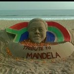 Dr. Swamy39 Ji - Kindly RT @ANI_news: Puri : Eminent sand artist Sudarshan Pattnaik pays tribute to Nelson Mandela http://t.co/rY69SRHZRM