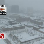 RT @newson6wxguy: Havent seen a view like this in awhile. #downtown #SnowDay #Tulsa http://t.co/RVAGy2Jh9U