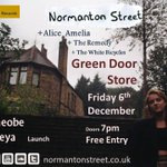 TONIGHT: @NormantonStreet w/ @phoebefreya / @Alice11Amelia / The Remedy / The White Bicycles // 1900-2230 // £free // http://t.co/G02TK9qrgO