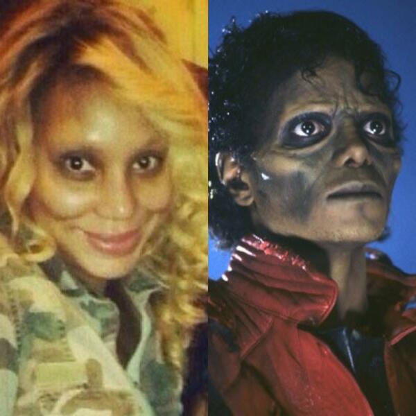 Tamar braxton without makeup
