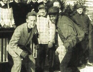 Wow. RT @Dodgers_History: Vin Scully once raced Jackie Robinson on ice skates. One of few to beat Jackie in any race. http://t.co/v4b7SXfde3
