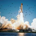 RT @HistoryInPics: Space shuttle Challenger lifts off at Kennedy Space Center, 1986.