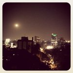 View of the full moon from rooftop of #Bandra190 last night. http://t.co/Kh2AENThwH