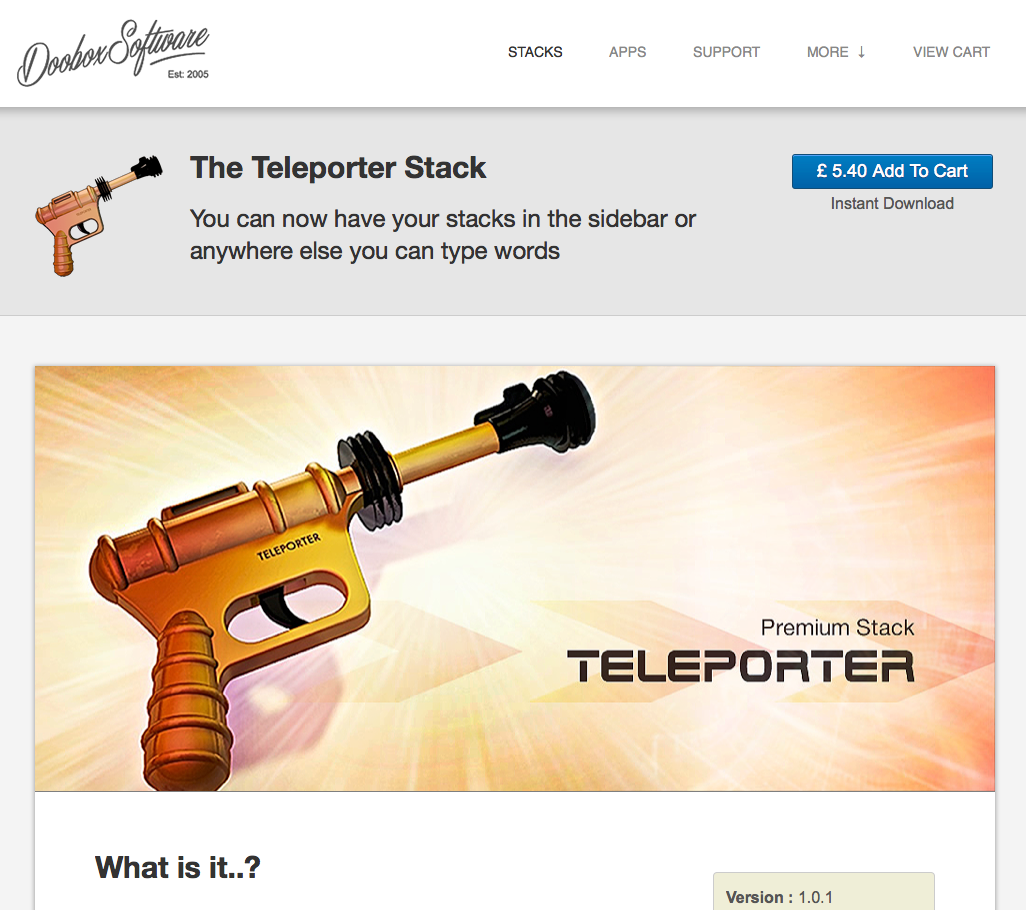 A good old update of the Teleporter stack coming very soon : http://t.co/2UF8hAOHUe