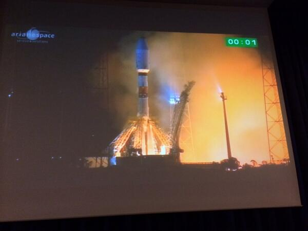 """@esascience: Liftoff for #Gaia! http://t.co/ASSR8r3spw"""