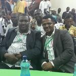 With Sen. John Munyes of Turkana at the Tallying Centre at the Kenya Industrial Estate. Sen. Wetangula reelected http://t.co/qrNtFrY1qA