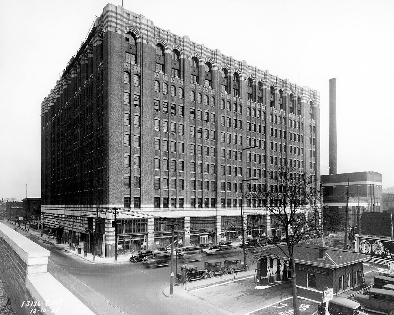 The Argonaut Building, Detroit, MI. 85 years ago. #TBT #ThrowBackThursday #Detroit #History http://t.co/wDbAcuRogy