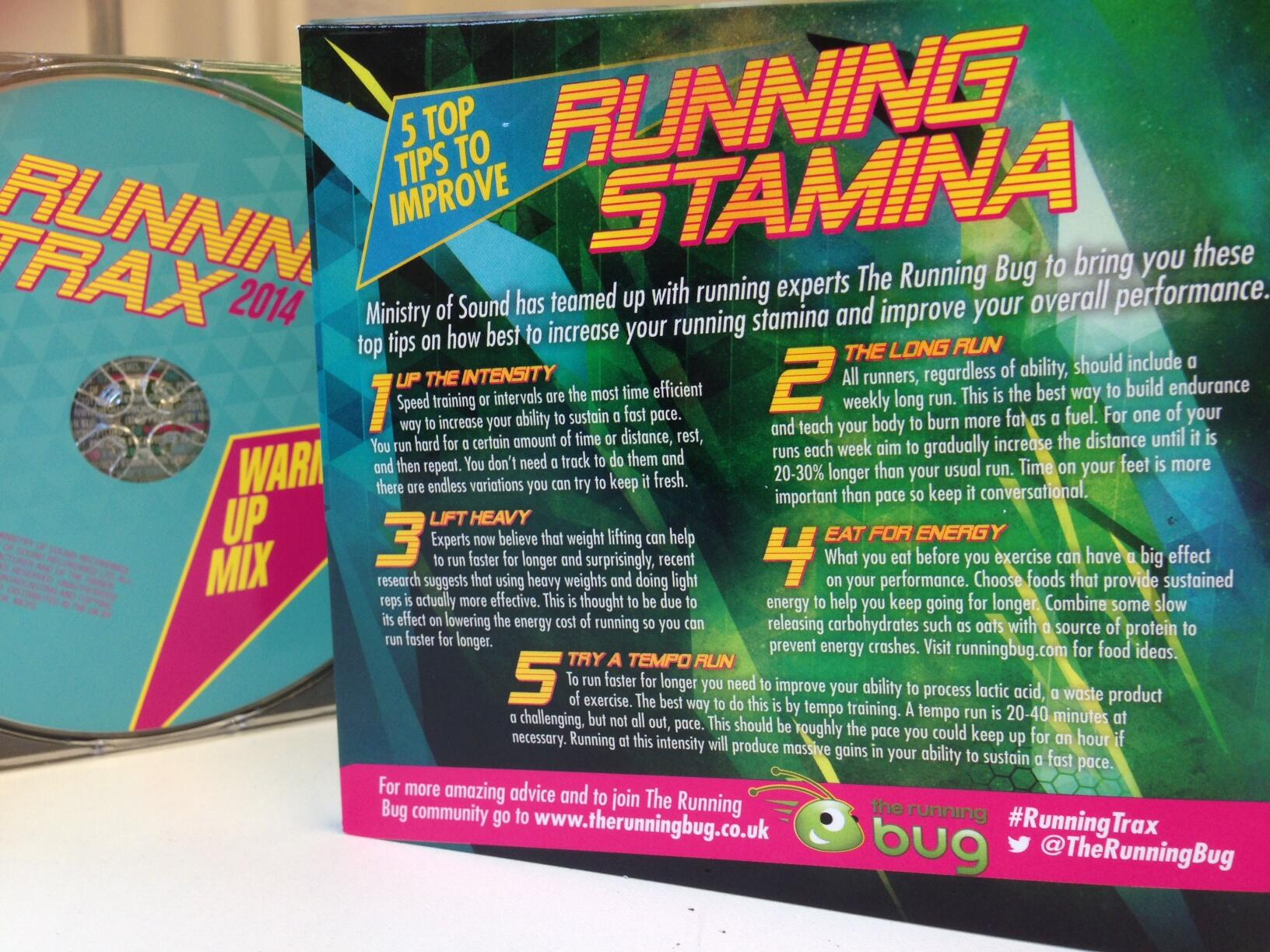 LOOK what just arrived at Bug Towers! @ministryofsound #runningtrax RT http://t.co/3EDZFBOeig