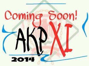 coming soon Ajang Kreatifitas Paskibra XI Tingkat SMP SMA/K se- Jawang Tengah tahun 2014. @AKPXI_2014 for more info:) http://t.co/CCQ10kkuWH