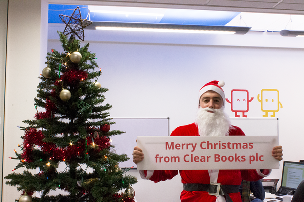 From everyone at @ClearBooks, we'd like to wish you all a very Merry Christmas! And a prosperous new year! http://t.co/SDUFEoCzE0