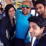 Miss u guys.. @mandybedi @VishalDadlani @5hekhar @karan009wahi http://t.co/7TAdrkYhsg