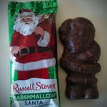 This Marshmallow Santa looks less like Santa and more like Gimli's burned corpse. Still tasty, though. http://t.co/7vrnXDO5hF