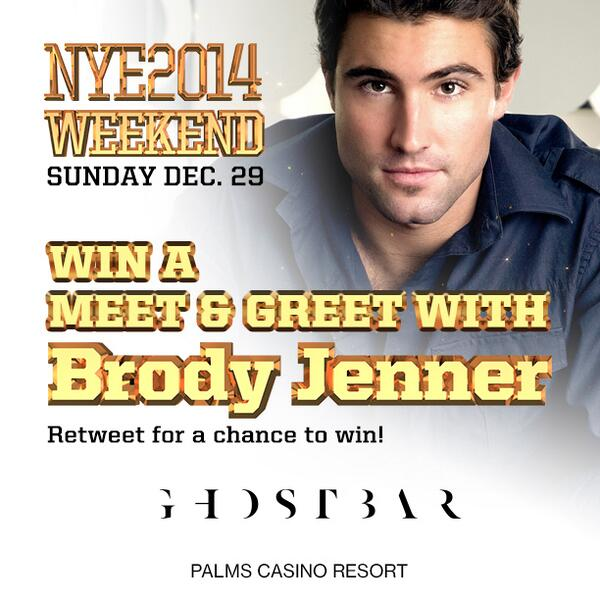 Win a meet & greet with @BrodyJenner on 12/29! Just RT this tweet to enter! #PickMePalms http://t.co/lpimdH1pFb