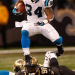 RT @WeddingRowCharl: #KeepPounding @Panthers #NOvsCAR RT @DeAngeloRB: Lets do this #panthernation http://t.co/EqWi41aLND
