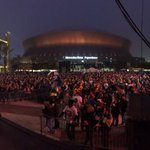 RT @Saints: Outside the @MBSuperdome! #CARvsNO http://t.co/DDMCBUDwF0