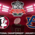 RT @FSU_Football: It's FSU vs. Auburn in the 2014 Vizio BCS National Championship Game! http://t.co/1uZnRMvbSC